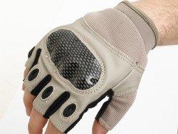 Military Combat Gloves mod. III (Size XL) - Tan [8FIELDS]