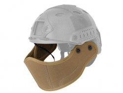 Ochrona twarzy do hełmów/kasków FAST - Coyote Brown