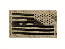 Naszywka Reverse USA Flag - Multicam [EM]