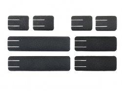Zestaw niskoprofilowych paneli ochronnych mod.3 na szynę Picatinny - Black [Element]