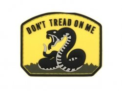 Naszywka Don't Tread On Me PVC 1 [8FIELDS]