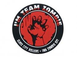 Naszywka Team Zombie PVC - Red [EM]
