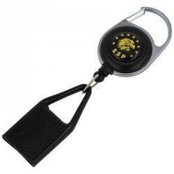ESP - Smycz do miotacza gazu 22mm z karabińczykiem i klipsem