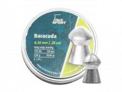 H&N - Śrut diabolo Baracuda 6,35mm 150szt.