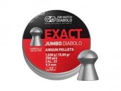 JSB - Śrut diabolo Exact Jumbo 5,52mm 250szt.