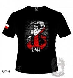 Koszulka Polska Walcząca 1944 PAT-04 [rozmiar L]
