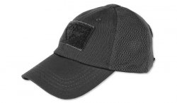 Condor - Czapka Mesh Tactical Cap - Czarny - TCM-002