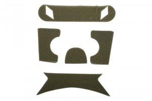 Zestaw rzepów do kasków typu BJ - olive drab