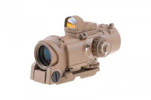 Theta - Replika luneta 4x32E z kolimatorem micro - TAN