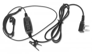 BaoFeng - Mikrofonosłuchawka z podwójnym PTT - Wtyk Kenwood