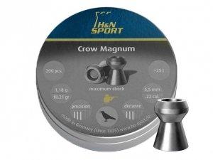 H&N - Śrut diabolo Crow Magnum 5,5mm 200szt.