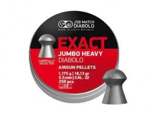 JSB - Śrut diabolo Exact Jumbo Heavy 5,52mm 250szt.