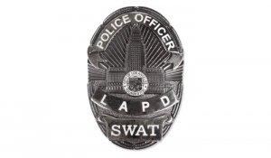 FOSCO - Odznaka Police Officer LAPD SWAT - Czarny