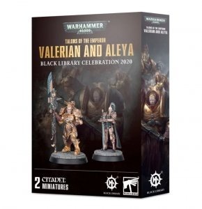 Warhammer 40k - Talons of the Emperor: Valerian and Aleya