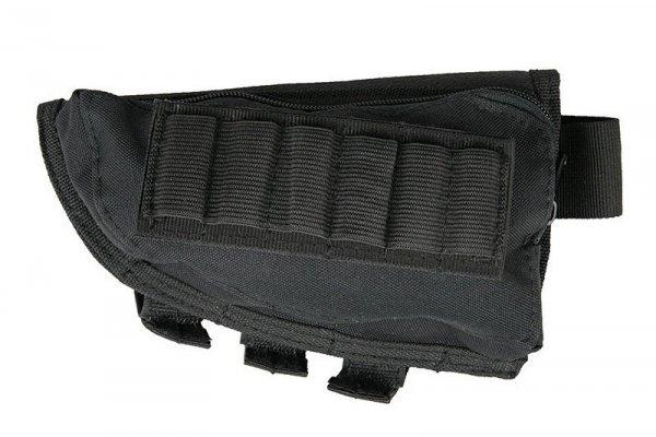 Ładownica na kolbę do strzelby - czarna
