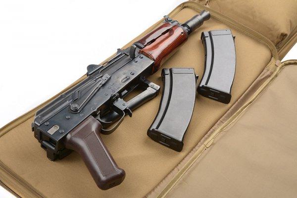 Pokrowiec na broń 84cm - olive