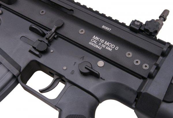 WE - Replika MK16 MOD 0 Open Bolt - czarny