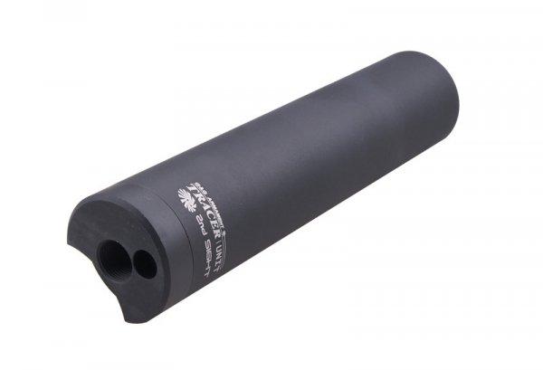 Tłumik dźwięku z naświetlaczem kulek typu Tracer - czarny