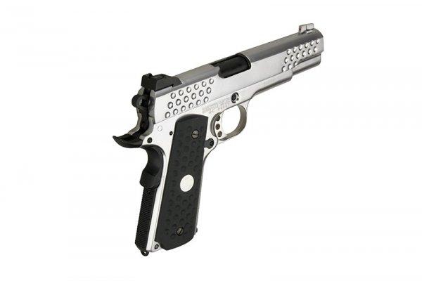 Replika pistoletu Knight Hawk - srebrna