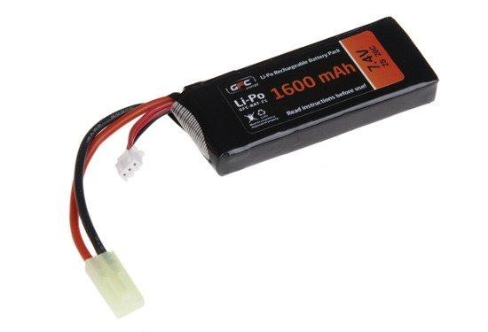 GFC - Akumulator LiPo 7,4V 1600mAh 20C