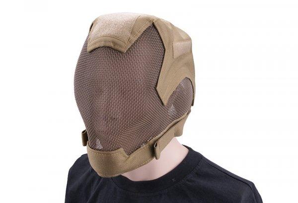 Maska pełna typu V6 Ultimate Edition - TAN