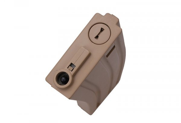 ASG - Zestaw 10 magazynków real-cap na 30 kulek do M4