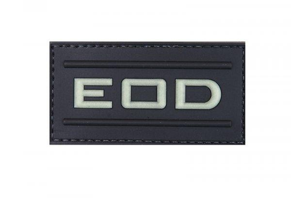 Naszywka 3D – EOD - świecąca w ciemności