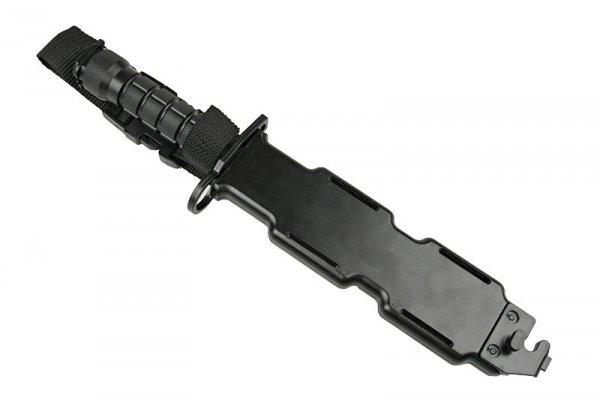 Treningowa replika bagnetu M9 - czarny