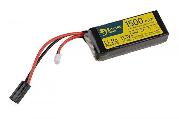 ElectroRiver - Akumulator LiPo 11,1V 1500mAh 20C