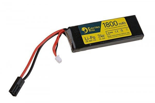 ElectroRiver - Akumulator LiPo 7,4V 1800mAh 20C