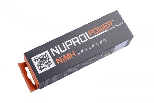 Nuprol - Akumulator NiMH 9,6V 1600mAh typ small