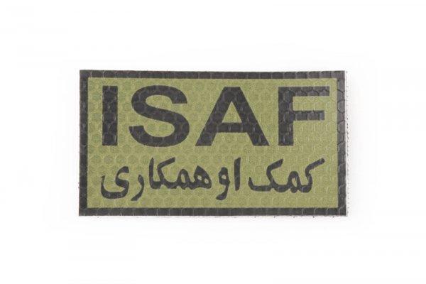 Naszywka IR - ISAF - OD