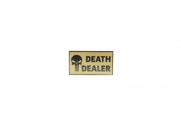 Naszywka IR - Death Dealer lewa - tan