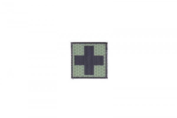 Naszywka IR - Krzyż medyczny - GR