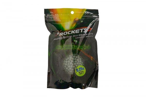 Rockets - Kulki BIO 0,25g 0,5kg - Dark Green