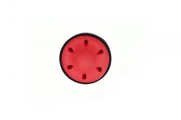 Element - Wyciszona łożyskowana głowica tłoka - czerwona
