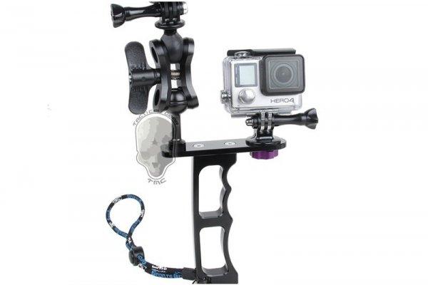 Jednoręczny uchwyt do nurkowania z montażem GoPro