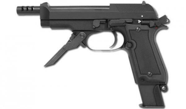 KWA / ASG - M93R II - Semi/Burst - Metal Slide - 16164