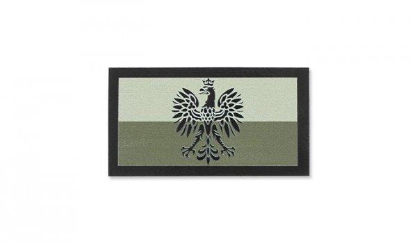 Combat-ID - Naszywka Polska Godło - Mała - TAN/CB - Gen II IR