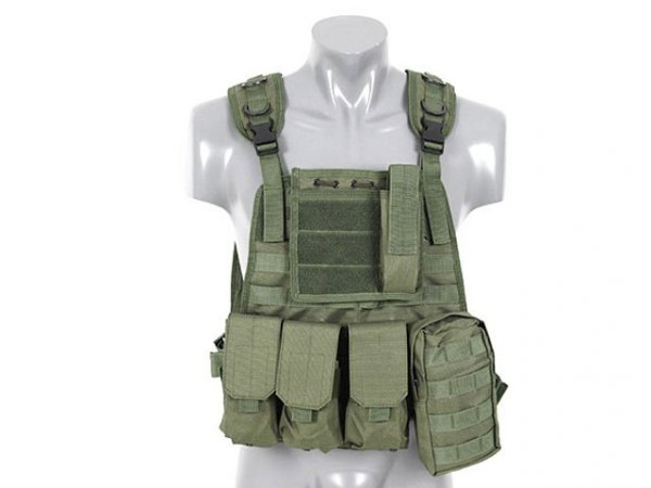 Plate Carrier Harness - OLIVE [8FIELDS]