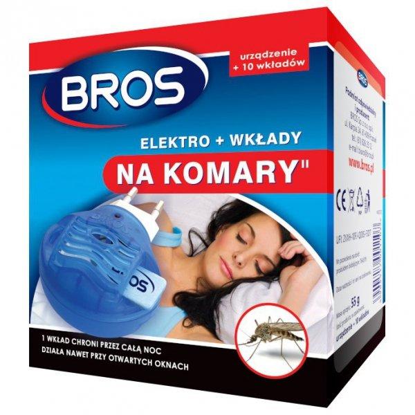 Elektro + 10 wkładów Bros na komary