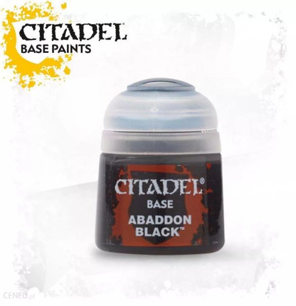 CITADEL - Base Abaddon Black 12ml