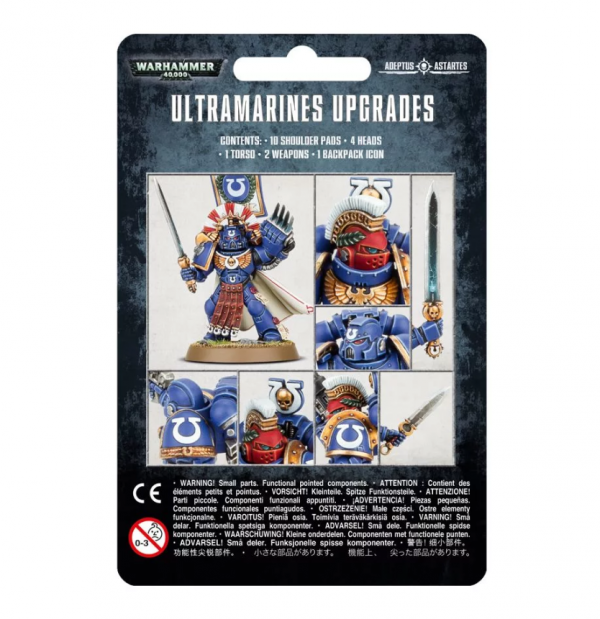 Warhammer 40K - Ultramarines Upgrade Pack