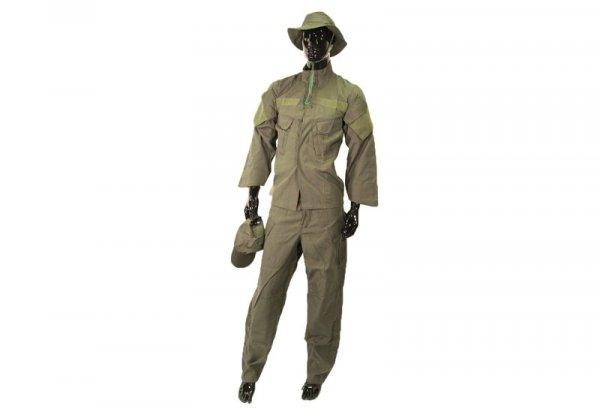 Komplet mundurowy z kapeluszem i czapką