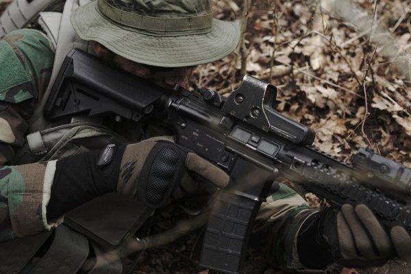 Rękawice taktyczne Armored Claw Shield - oliwkowe