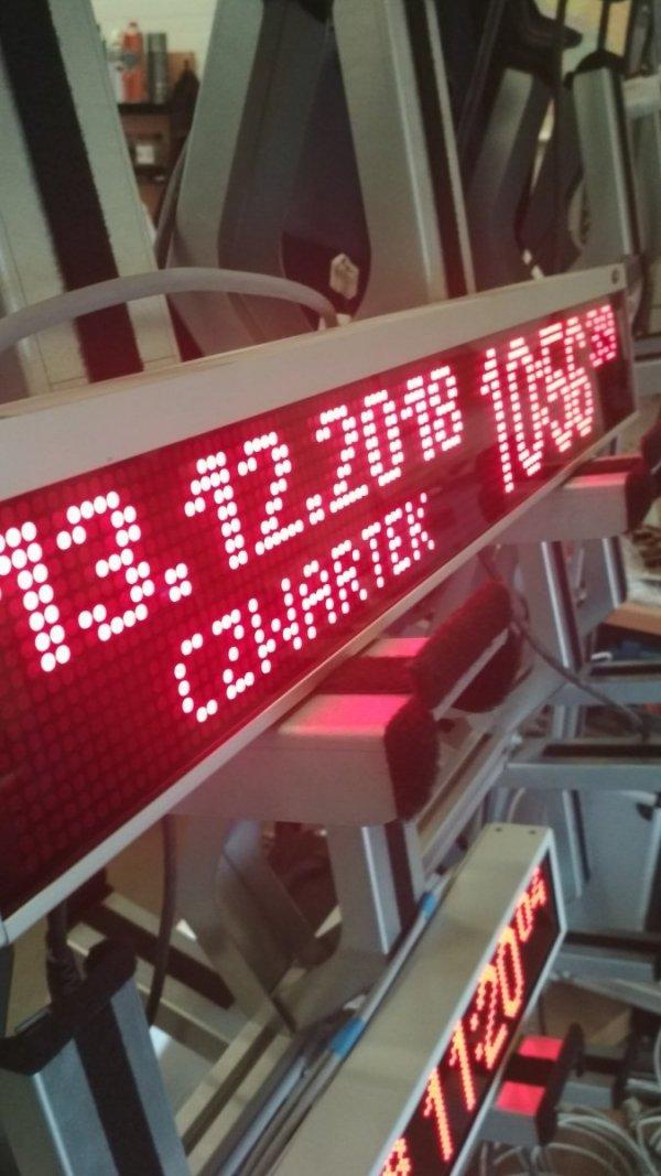 Tablica LED XTL 16x120-4.75AR, obudowa: aluminium - Produkt kolekcjonerski