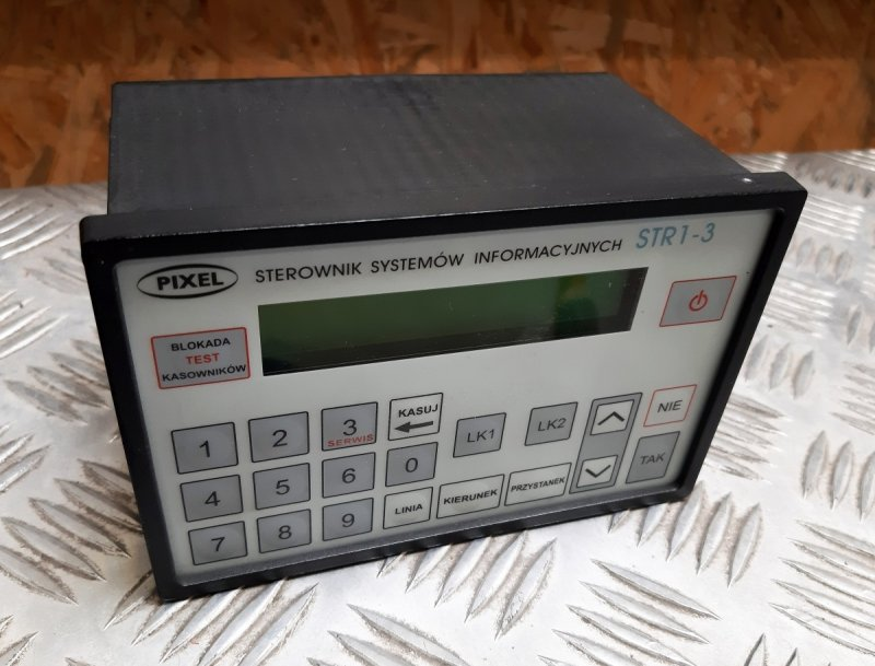 STR 1-3 Sterownik Tablic Informacyjnych - Produkt kolekcjonerski
