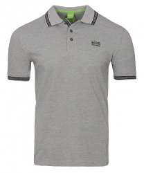 Hugo Boss koszulka polo polówka męska szara