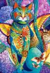Puzzle 1500 Castorland C-151488 Kot - Feline Fiesta_01