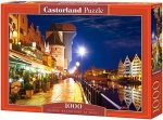 Puzzle 1000 Castorland C-103379 Gdańsk - Waterfront at Night